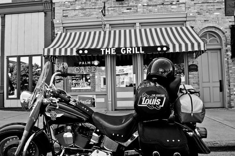The Grill, Motorcycle