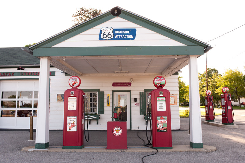 Route 66 Gas Station