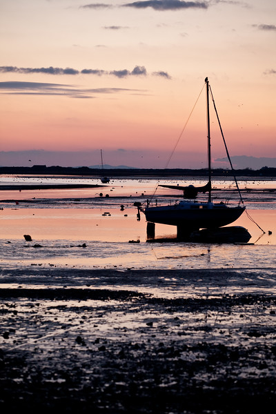 Mudeford Beach at Sunset