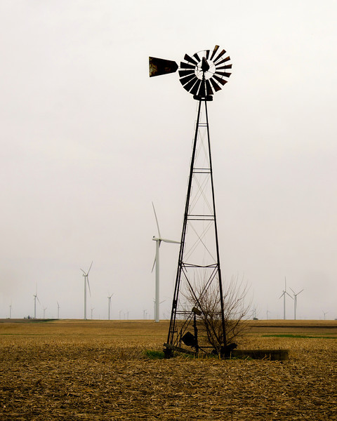 Windmill Old and new