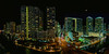 Brickell Avenue as seen from the EPIC on the Miami River