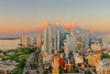 "<center><font size=""7"">""Downtown Miami at Sunrise"" </font></center> <center><font size=""4"">(  as seen from Marina Blue, at Biscayne Blvd. & N.E. 8th Street )</font></center> <center><font size=""3"">This spectacular picture is a Gigapixel Panorama, made up of 70 images taken with a telephoto lens, then   stitched  together  to produce a huge 1,400 megapixel image with infinite sharpness, detail and color.</font></center> <center><font size=""4"">This Image has an aspect ratio of 2:3 and is available in any size</font></center> <center><font size=""4"">up to 96"" x 144"" in any of the following forms:</font></center> <center><font size=""4"">1. Gloss Acrylic Mount with Aluminum Back and Stand-Off frame    2. Non-Glare Acrylic Mount with Aluminum Back and Stand-Off frame 3. Canvas Gallery Wrap, Mounted on Heavy Stretcher Bars  4. Un-mounted, Rolled Canvas for easy Shipping or Hand Carry 5. Luster Print for framing</font></center> <center><font size=""4""> To Request a Quote, please email:  Robert @RobertHolmesPhoto.com</font></center>"