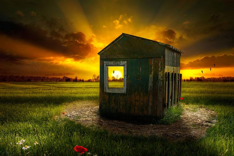 Postcard - Window of Time