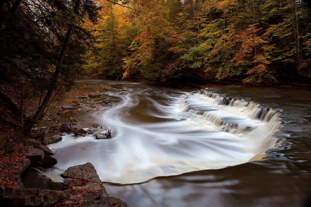 """Squaw Rock, South Chagrin Reservation.<br /> This photo can be purchased as a 30""""x20"""" or an 18""""x12"""" Ready-to-Hang Float Mount Metal Print. <br /> Purchase Price: $329.99 (30x20"""") and $147.99 (18x12"""")<br /> To purchase this wall mount, click on the cart button to the right."""