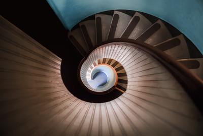La Pomo Lighthouse Staircase