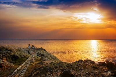 Point Reyes Lighthouse - Sunset