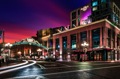 Gas Lamp District, San Diego