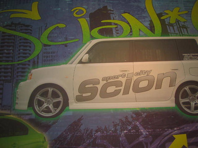 Scion, Sport City, Wall Wrap