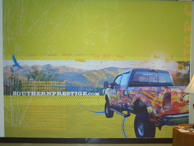 Southern Prestige, Custom Wall Wrap, North Carolina