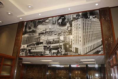 Citizen's National Bank, Swearingen Interior Design, Wall wrap, Longview, TX