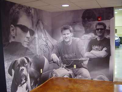 Dale Earnhardt Jr., Wall Mural Wrap