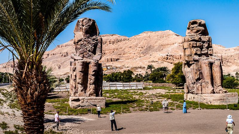 Egypt - Luxor - Colossi of Memnon.JPG