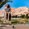 Egypt - Luxor - Colossi of Memnon.JPG