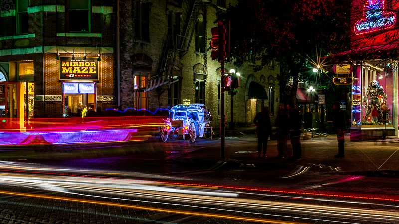 USA - San Antonio - Carriage Lights.JPG