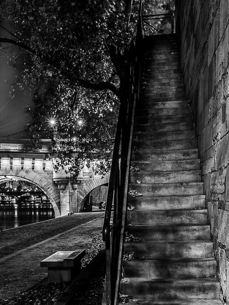 France - Paris - Along the Seine - 4 BW.jpg