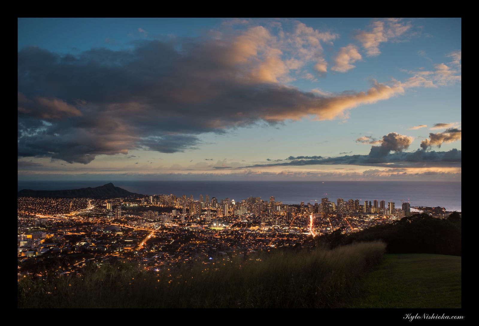 Honolulu from Pu'u Ualaka'a