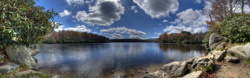 Price Lake in the Fall, Blue Ridge Parkway, NC