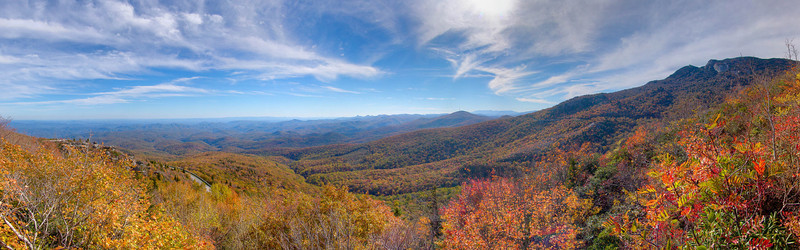 Rough Ridge in the Fall of 2006, Blue Ridge Parkway, NC