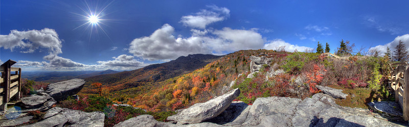 Rough Ridge in the Fall, Blue Ridge Parkway, NC