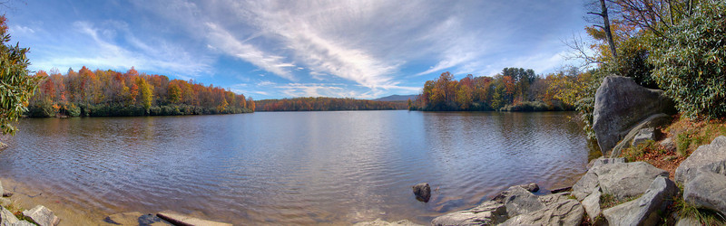 Price Lake in the Fall of 2006, Blue Ridge Parkway, NC