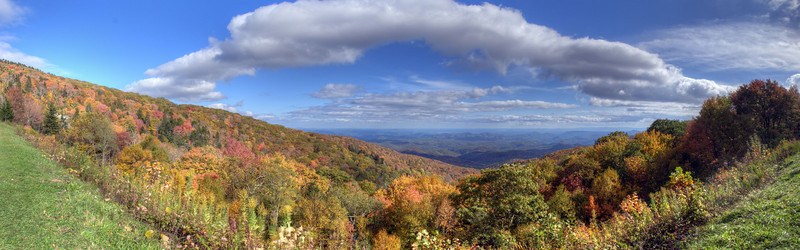 Blue Ridge Parkway, NC in the Fall
