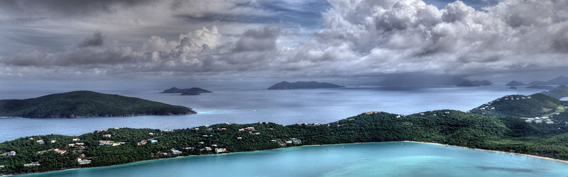 View of Megan's Bay, St Thomas, Virgin Islands