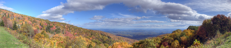 Blue Ridge Parkway in the Fall, NC