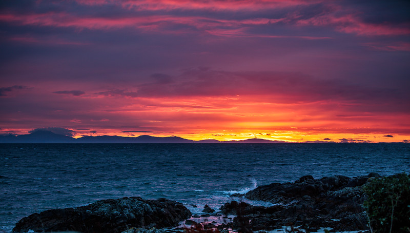 Sunrise over Mull