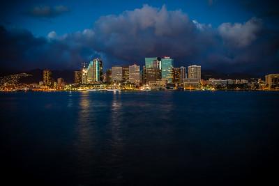 Downtown Honolulu, 2014