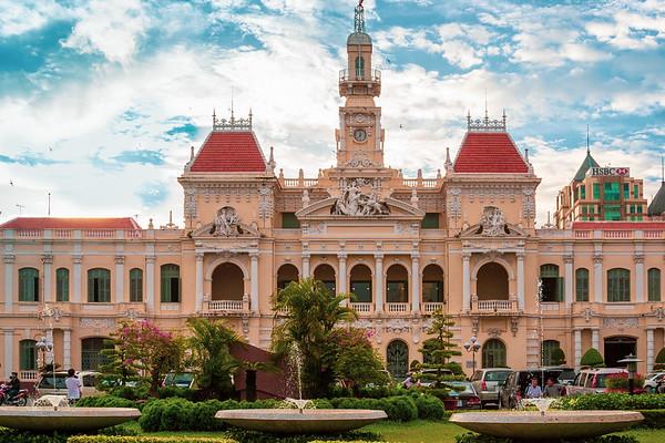 Saigon City Hall, Saigon, 2008