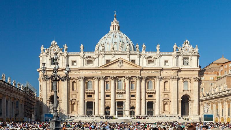 St. Peter's Basilica, Vatican City, 2009