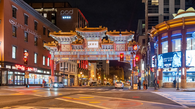 Chinatown, Washington D.C., 2020