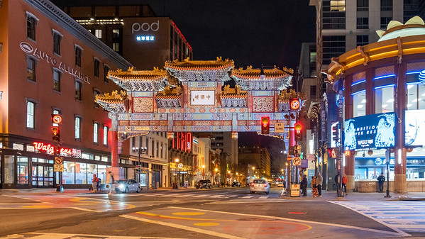 Chinatown, Washington D.C., 2020