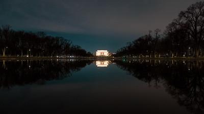 Lincoln Memorial, Washington D.C., 2020