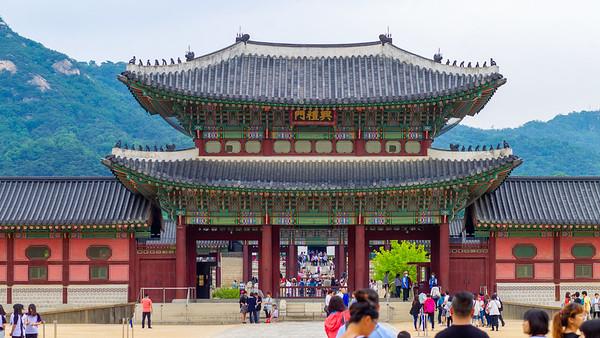 Gyeonbok Palace, Seoul, 2015