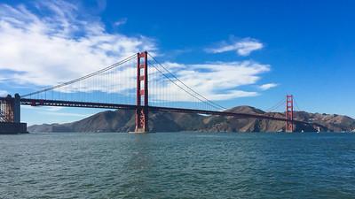 Golden Gate Bridge, San Francisco, 2017
