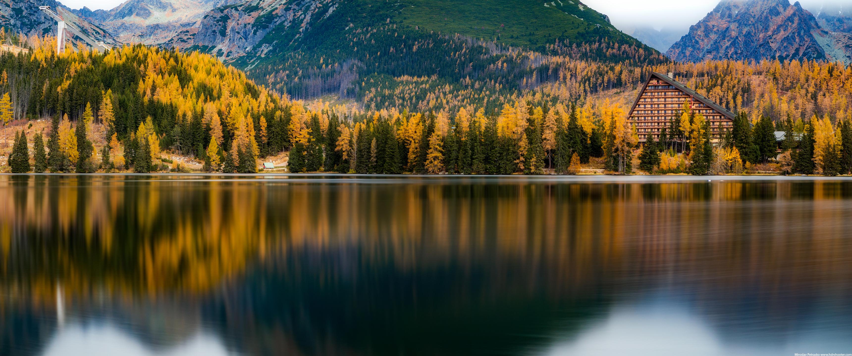 Autumn At The Lake Wallpaper