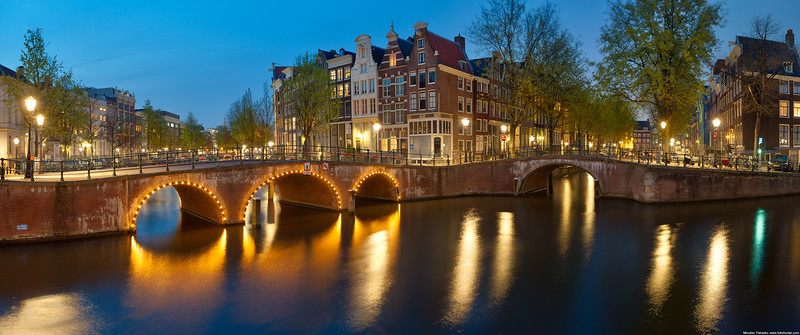 Amsterdam canals wallpaper