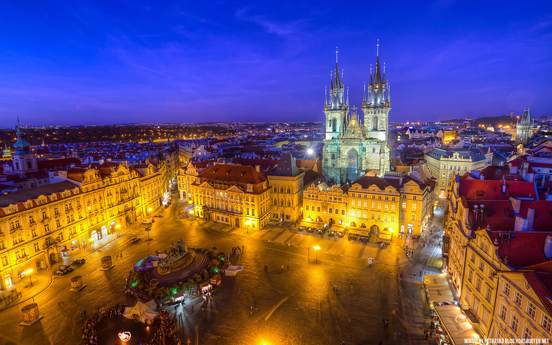 Prague Twilight 1920x1200