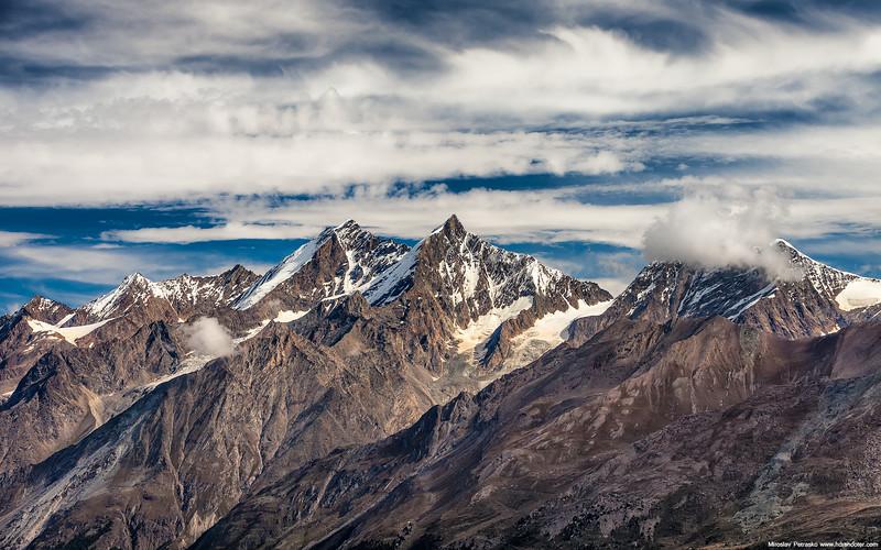 Alpine peaks 1920x1200