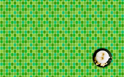 Green-Squares-with-cappucino--2009--1920x1200