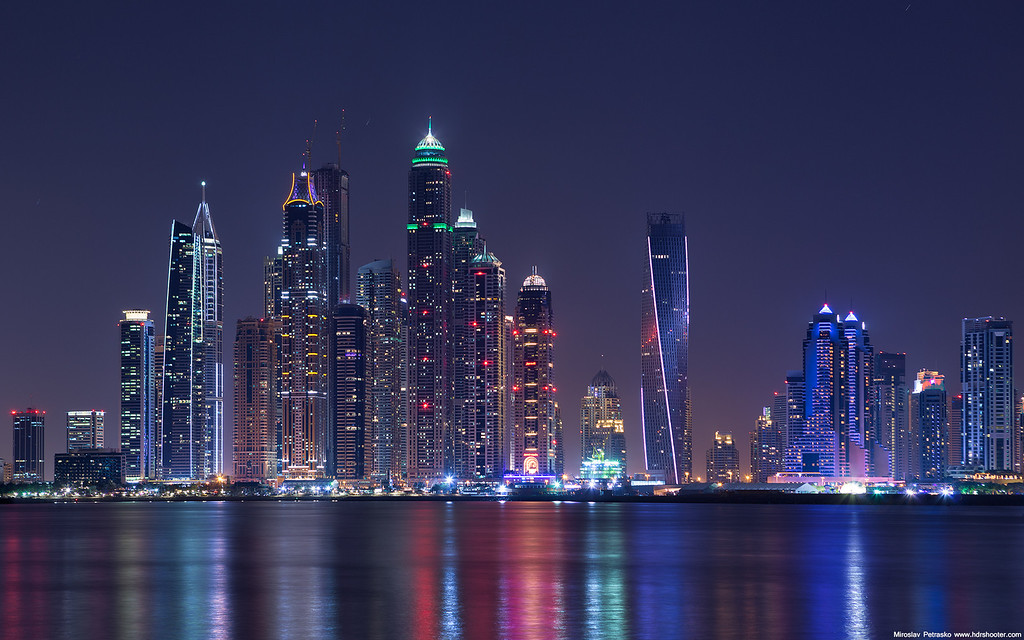 Dubai Marina Skyscrapers 1920x1200