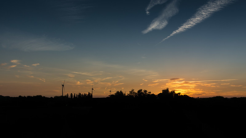 Sunset Wetteren