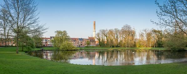 Panorama main pond