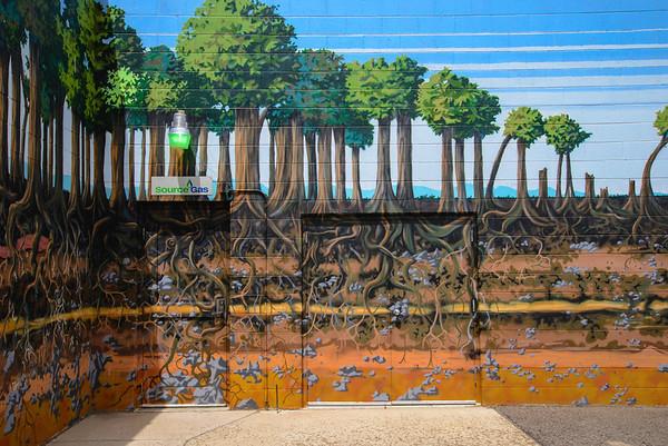 Source Gas Forest Door