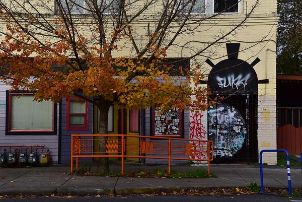 Portland Fall Wall