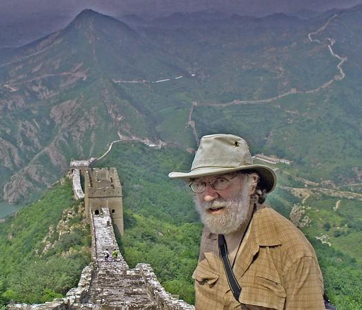 Great Wall at Mutianyu and me.