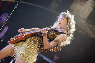 Taylor Swift performs at Valley View Casino Center in San Diego,  California