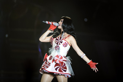 Katy Perry performs at Valley View Casino Center in San Diego,  California