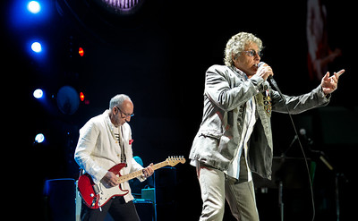 "The Who performs on 2/5/2013 during the  ""Quadraphenia and More"" tour at Valley View Casino Center in San Diego,  California"